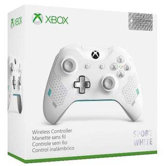 Mando inalámbrico Xbox: Edición especial Deporte blanco