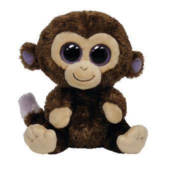 Peluche Coconut Brown Monkey (15 cm) Cumpleaños 27 de julio