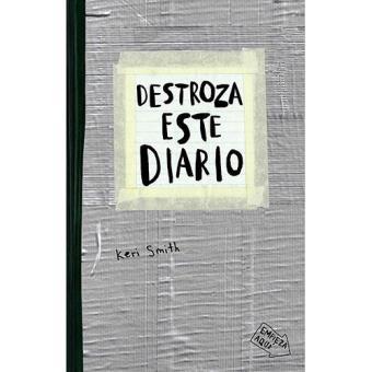 Destroza este diario (Gris)