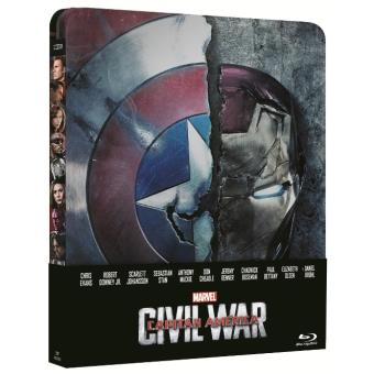 Capitán América: Civil War - Steelbook Blu-Ray