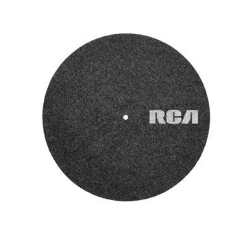"Patinador de vinilo RCA Felt Turntable Mat 12"""
