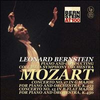 Wolfgang Amadeus Mozart: Klavierkonzerte Nr.15 & 17 - Vinilo