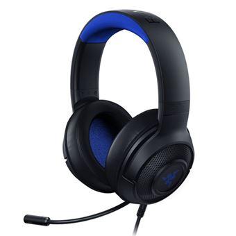 Auriculares gaming Razer Kraken X Negro/azul multiplataforma