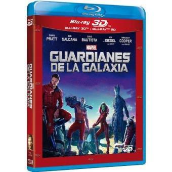Guardianes de la Galaxia - Blu-Ray + 3D