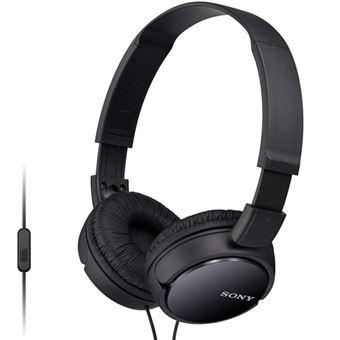 Auriculares Sony MDR-ZX110AP Negro para smartphone