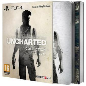 Uncharted:The Nathan Drake Collection Edición Especial PS4