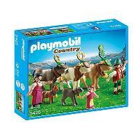 Playmobil Country Pastores alpinos con animales