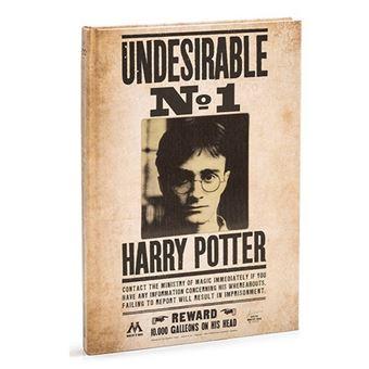 Libreta A6 Rayada Harry Potter 3d Lenticular