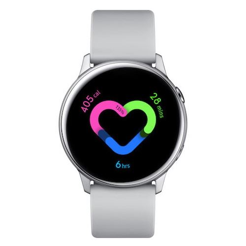 Smartwatch Samsung Galaxy Watch Active Plata