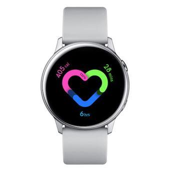 Smartwatch Samsung Galaxy Watch Active Plata