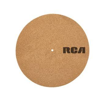 "Patinador de vinilos RCA Cork Turntable Mat 12"""