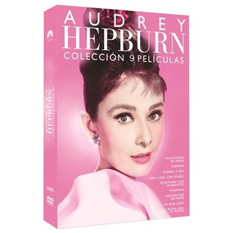 Pack Audrey Hepburn - 8 Películas + Documental - DVD