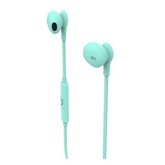 Auriculares Muvit M1C Turquesa