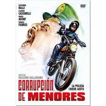 Corrupción de menores - DVD