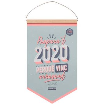 Mr Wonderful Calendari de paret – Prepara't 2020, perqué vinc arrasant