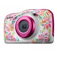Cámara compacta Nikon Coolpix W150 + Mochila Rosa Kit