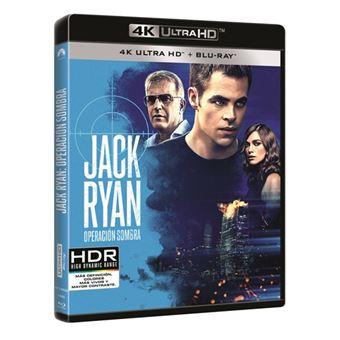 Jack Ryan, Operación Sombra - UHD + Blu-Ray
