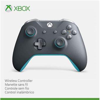 Mando inalámbrico Xbox One - Gris y Azul