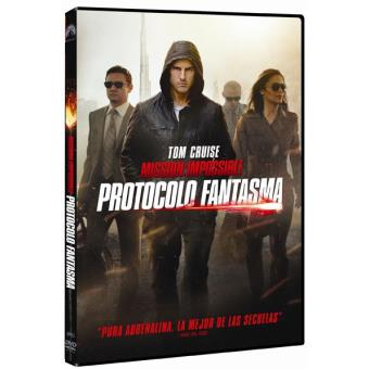 Misión imposible 4: Protocolo fantasma - DVD