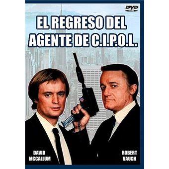 El regreso del agente de C.I.P.O.L. - DVD