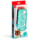 Funda y Protector de pantalla Edición Animal Crossing: New Horizons para Nintendo Switch