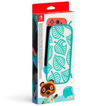Funda y Protector de pantalla Edición Animal Crossing: New Horizons para Nintendo Switch