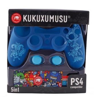 Kit 5 Componentes KuKuxumusu  PS4