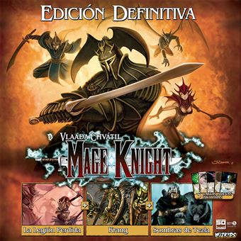 Mage Knight. Edición definitiva - Tablero