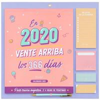 Mr Wonderful Calendario de pared – En 2020, vente arriba los 366 días