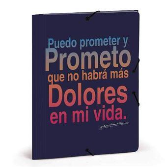 Carpeta gomas Dolores Promesas