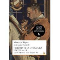 Historia de la literatura universal 2