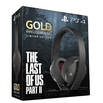 Auriculares inalámbricos Gold The Last of Us Parte II Edición Limitada Negro
