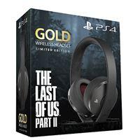 Auriculares inalámbricos Gold The Last of Us Parte II Edición Limitada Negro