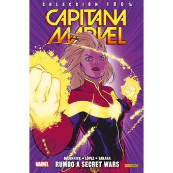 Capitana Marvel 4: Rumbo a Secret Wars