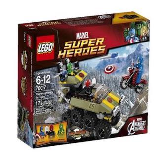 LEGO Superhéroes Capitán America Vs Hydra