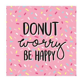 Gamuza Legami Donut worry, be happy