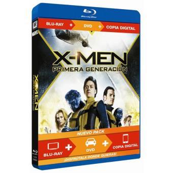 X-Men: Primera generación - Blu-Ray + DVD + Copia digital