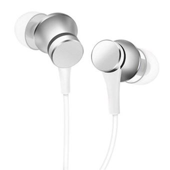 Auriculares Xiaomi Mi In-Ear Headphones Basic Plata