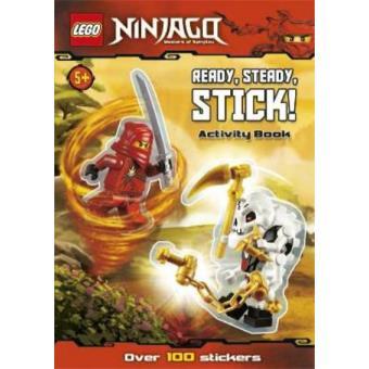 Ninjago: Ready, Steady, Stick! Sticker Activity. LEGO