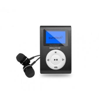 MP3 Sunstech Dedalo III 4GB Negro
