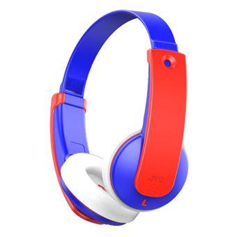 Auriculares infantiles Bluetooth JVC HA-KD9BT Rojo/Azul