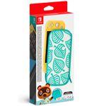 Funda y protector de pantalla Edición Animal Crossing: New Horizons para Nintendo Switch Lite
