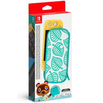 Funda y protector de pantalla Edición Animal Crossing: New Horizons para Nintendo Switch Lite