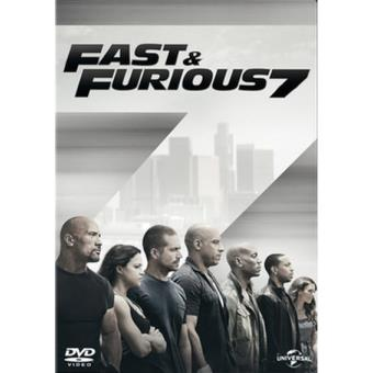 A todo gas - Fast and Furious 7 - DVD