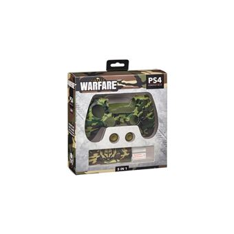 Kit accesorios de silicona Indeca Warfare para PS4