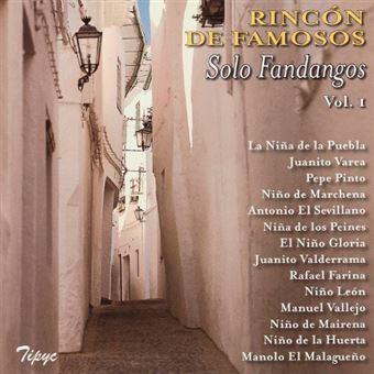 Rincón de Famosos - Solo Fandangos Vol 1