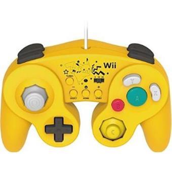 Mando Hori Super Mario Bros Pikachu Wii-U