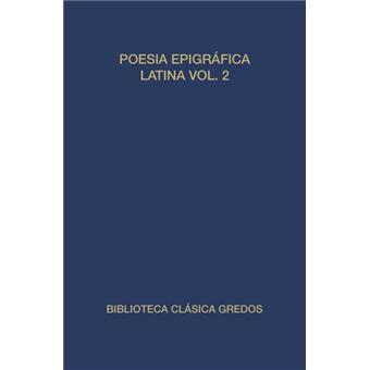 Poesia epigrafica latina vol. 2