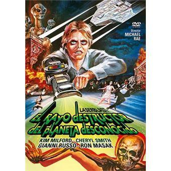 El rayo destructor del planeta desconocido - DVD