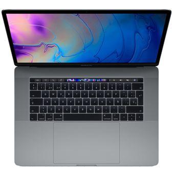 "Apple  MacBook Pro 15"" i7 2,6GHz 256GB TouchBar Gris Espacial"